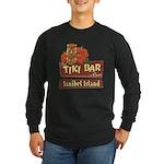 Sanibel Tiki Bar - Long Sleeve Dark T-Shirt