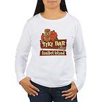 Sanibel Tiki Bar - Women's Long Sleeve T-Shirt