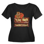 Sanibel Tiki Bar - Women's Plus Size Scoop Neck Da