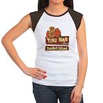 Sanibel Tiki Bar - Women's Cap Sleeve T-Shirt