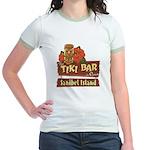 Sanibel Tiki Bar - Jr. Ringer T-Shirt