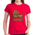 Sanibel Tiki Bar - Women's Dark T-Shirt