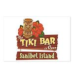 Sanibel Tiki Bar - Postcards (Package of 8)
