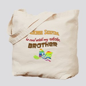 surfing w autistic brother Tote Bag