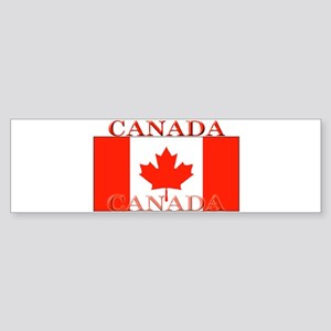 Canada Canadian Flag Bumper Sticker