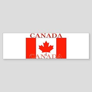 Canada Canadian Flag Bumper Sticker