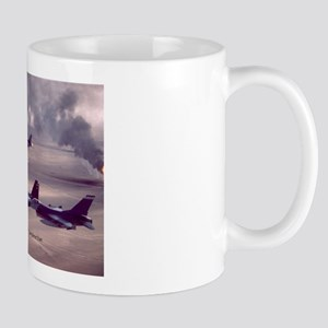 F-16 Falcon F-15 Eagle Mug