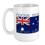 Cocos Islands Large Mug