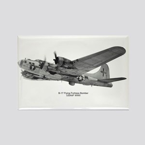 B-17 Flying Fortress Rectangle Magnet