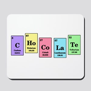 Chocolate periodic table cases covers cafepress elemental chocolate mousepad urtaz Gallery