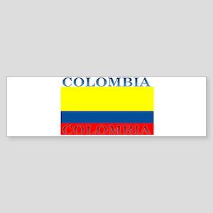 Colombia Colombian Flag Bumper Sticker