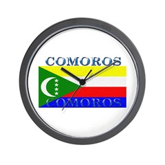 Comoros Wall Clock