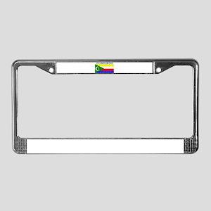 Comoros License Plate Frame