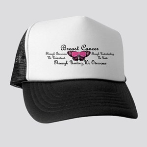 Butterfly Awareness 1 (Breast Cancer) Trucker Hat