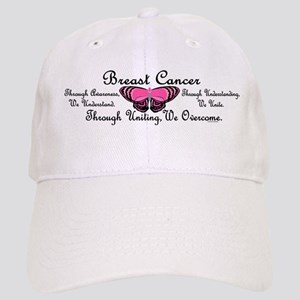 Butterfly Awareness 1 (Breast Cancer) Cap