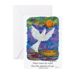 What Peace Means - Greeting Cards (Pk of 10)