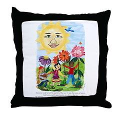 Warmth of the Sun - Throw Pillow