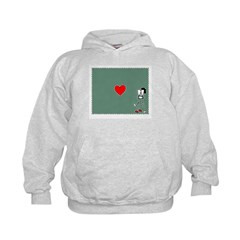 The Heart Of Kissing Hoodie