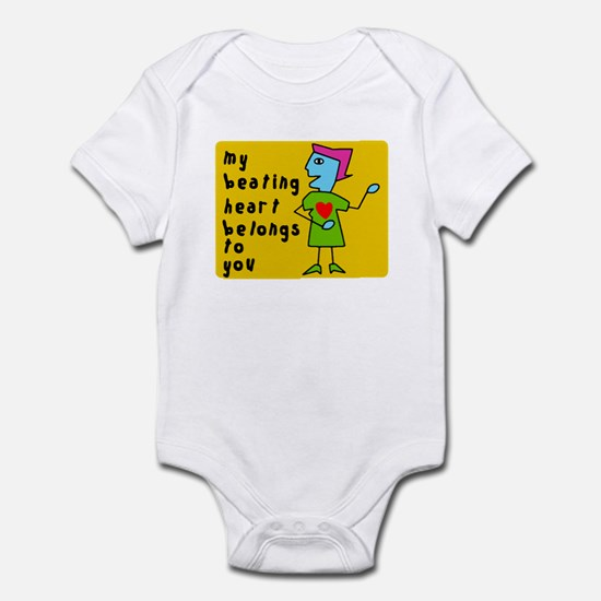 My Heart Belongs To You Infant Bodysuit