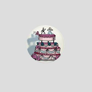 The Wedding Cake Mini Button