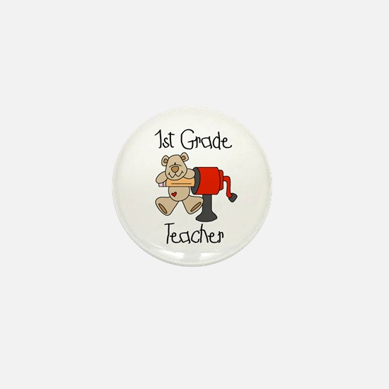 1st Grade Teacher Mini Button