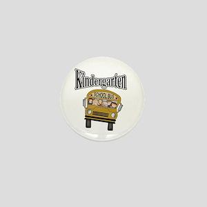 School Bus Kindergarten Mini Button