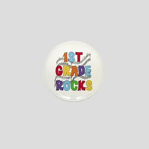 Bright Colors 1st Grade Mini Button