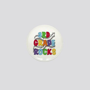 Bright Colors 3rd Grade Mini Button