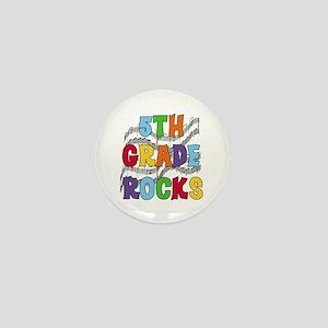 Bright Colors 5th Grade Mini Button