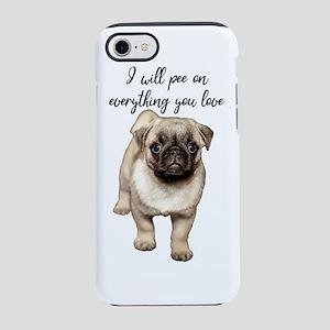 Pug Puppy iPhone 8/7 Tough Case