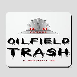 Canada Oil Field Trash Mousepad