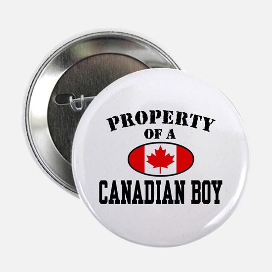 Property of a Canadian Boy Button