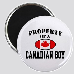 Property of a Canadian Boy Magnet