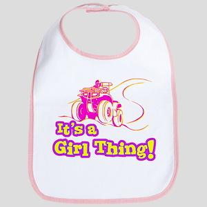 4x4 Girl Thing Bib