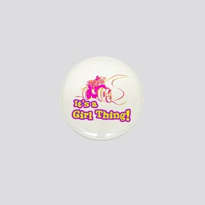 4x4 Girl Thing Mini Button