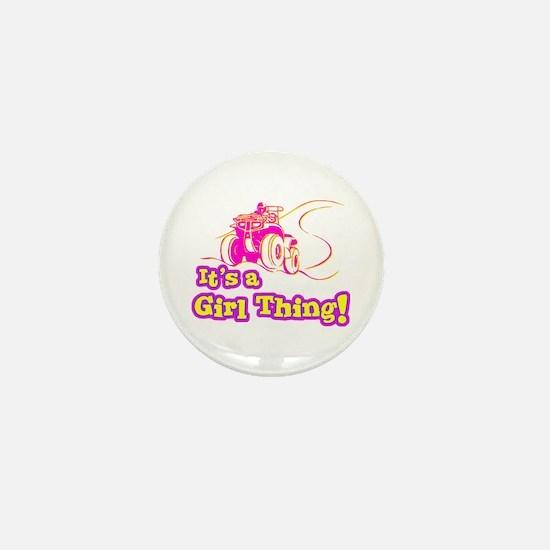4x4 Girl Thing Mini Button
