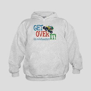 Get Over It - 4 Wheeling Kids Hoodie