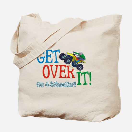 Get Over It - 4 Wheeling Tote Bag