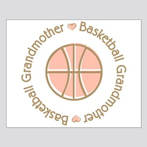 Basketball Grandmother Small Poster