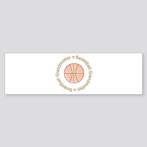 Basketball Grandmother Bumper Sticker