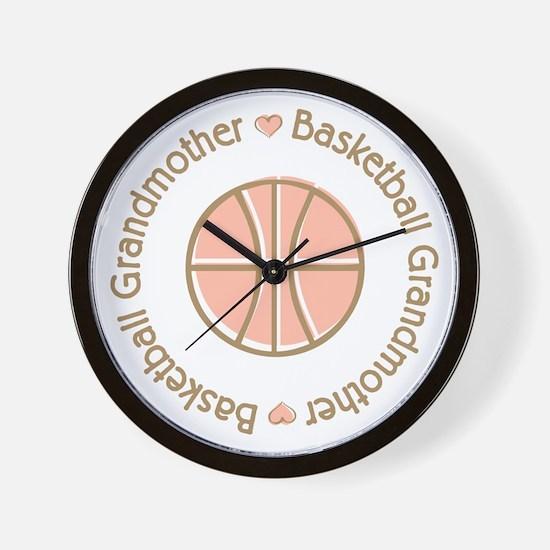 Basketball Grandmother Wall Clock