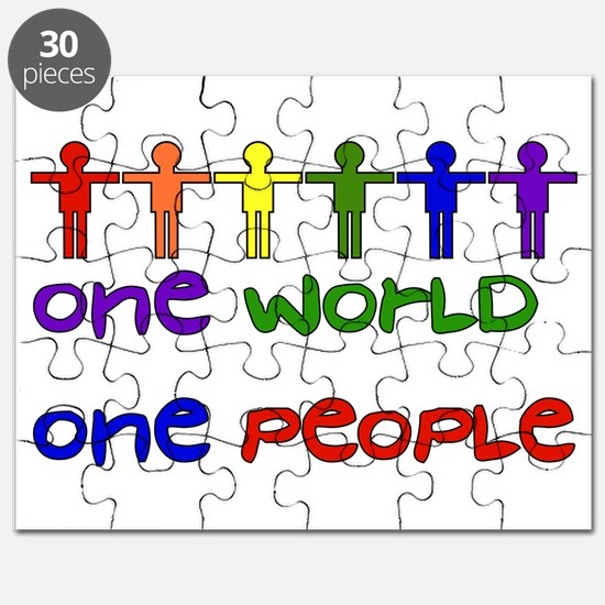 One World One People Puzzle