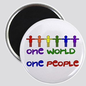 One World One People Magnet