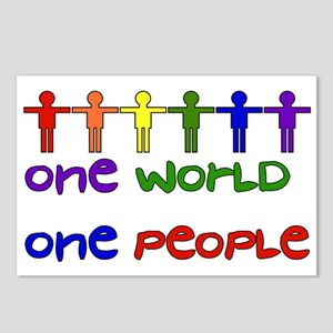 One World One People Postcards (Package of 8)