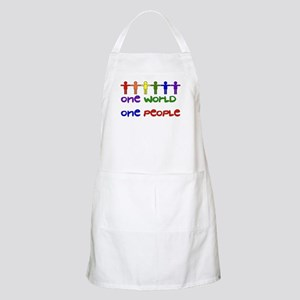 One World One People Light Apron