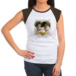 The Funny Sister - Women's Cap Sleeve T-Shirt