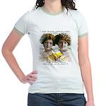 The Funny Sister - Jr. Ringer T-Shirt