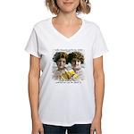 The Funny Sister - Women's V-Neck T-Shirt