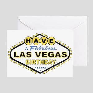 casino birthday party greeting cards cafepress