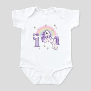 Pretty Pony First Birthday Infant Bodysuit